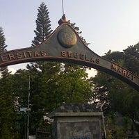 Photo taken at Universitas Sebelas Maret by Choirur R. on 4/30/2013