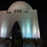 Photo taken at Mazar-e-Quaid by Noman K. on 11/16/2013