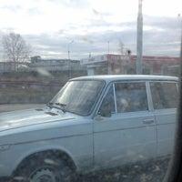 Photo taken at Мост на Самолетку by Дмитрий Л. on 4/19/2013