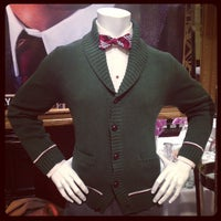 Photo taken at Brooks Brothers by Christopher B. on 4/25/2013