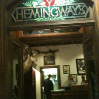 Photo taken at Hemingway's Blue Water Cafe by Max K. on 4/14/2013