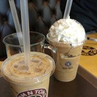 Photo taken at TOM N TOMS COFFEE by TaeYong K. on 9/1/2015