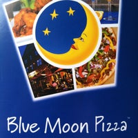 Photo taken at Blue Moon Pizza by Amber H. on 5/18/2013