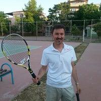 Photo taken at Necatibey Egitim Fakültesi Tenis Kortu by TC Gökhan E. on 5/28/2014