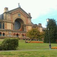 Photo taken at Alexandra Palace by Angel Z. on 9/15/2012