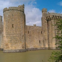 Photo taken at Bodiam Castle by Angel Z. on 5/11/2013