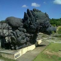 Photo taken at Garuda Wisnu Kencana (GWK) Cultural Park by Indra S. on 4/14/2013