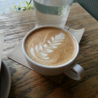 Photo taken at Dollop Coffee & Tea Co. by Tesha D. on 8/2/2013