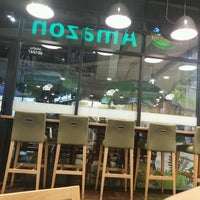 Photo taken at Café Amazon by Teerana R. on 1/14/2017