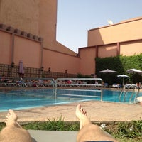 Photo taken at Diwane Hotel Marrakech by Rodger M. on 6/18/2014