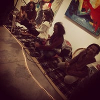 Photo taken at Hugo Rivera Gallery by Frank A. on 2/7/2014