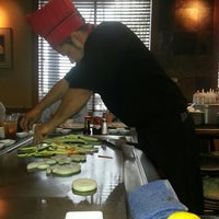 Photo taken at Wasabi Japanese Steakhouse & Sushi Bar by M P. on 5/17/2013