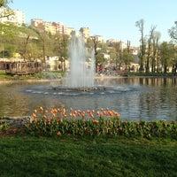 Photo taken at Hasbahçe Parkı by Arzu E. on 4/13/2013