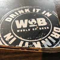 Photo prise au World of Beer par Tony C. le4/15/2018