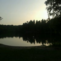 Photo taken at Bābelītes ezers by Ilze E. on 6/1/2013
