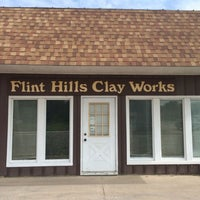 Photo taken at Flint Hills Clay Works by Anne B. on 7/18/2014
