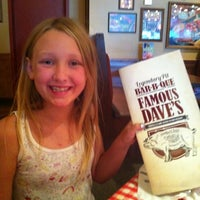 Photo taken at Famous Dave's by Anne B. on 7/31/2013