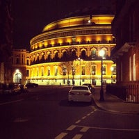 Photo taken at Royal Albert Hall by Pat P. on 4/28/2013