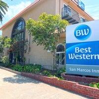 Photo taken at Best Western Plus San Marcos Inn by Best Western I. on 5/21/2017