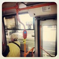 Photo taken at Трамвай №100 by Никита З. on 7/8/2013