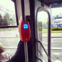 Photo taken at Трамвай №100 by Никита З. on 6/12/2013