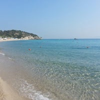 Photo taken at Armenistis Beach by Danilo ✌ on 8/12/2014