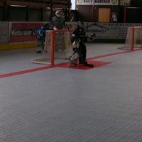 Photo taken at Inlinehockeyhalle Assenheim by Alexander E. on 8/30/2013