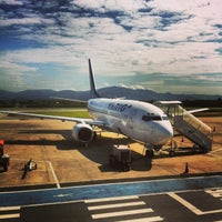 Photo taken at Aeroporto Internacional de Navegantes / Ministro Victor Konder (NVT) by Waldyr D. on 4/22/2013