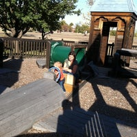 Photo taken at Augusta Play Park by marty b. on 10/24/2011