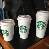 Photo taken at Starbucks by Mohamed E. on 7/4/2013