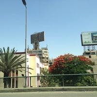 Photo taken at 6th October Bridge by Mohamed E. on 6/6/2013