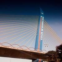 Foto tirada no(a) Viaduto Cidade de Guarulhos por Dani A. em 5/8/2013