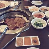 Photo taken at Han Sang Korean Charcoal BBQ by June on 6/17/2015