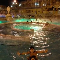 Photo taken at Széchenyi Thermal Bath by Miguel P. on 1/3/2013