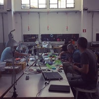 Photo taken at FAMO COSE - Roma Makerspace by Luca M. on 5/9/2015