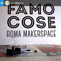 Photo taken at FAMO COSE - Roma Makerspace by Luca M. on 4/11/2015