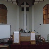 Photo taken at Iglesia Metodista San Pablo by Gustavo G. on 5/4/2013