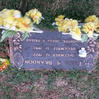 Photo taken at Lincoln Memorial Cemetery by Badhbh C. on 4/13/2014