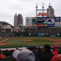 Photo taken at Progressive Field by Carlos M. on 4/14/2013