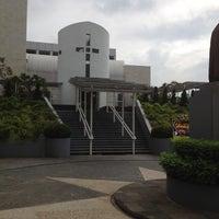 Photo taken at Gereja Katolik Regina Caeli by Andy H. on 11/25/2012