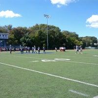 Photo taken at Franklin High School Turf Field by Geoffrey Z. on 9/29/2013