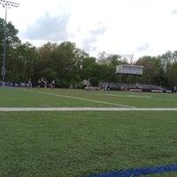 Photo taken at Franklin High School Turf Field by Geoffrey Z. on 5/12/2013