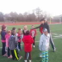 Photo taken at Franklin High School Turf Field by Geoffrey Z. on 3/26/2013