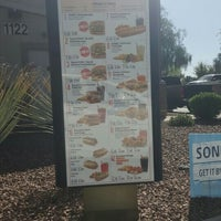 Photo taken at SONIC Drive In by Kelli D. on 3/8/2016