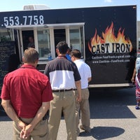 Photo taken at Cast Iron Food Truck by Zeb L. on 6/13/2013