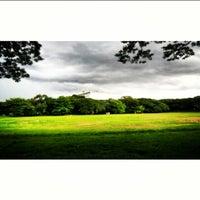 Photo taken at Sunken Garden by Yani R. on 6/13/2013