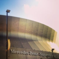 Photo taken at Mercedes-Benz Superdome by Jason W. on 5/17/2013