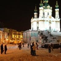 Снимок сделан в Андреевский спуск пользователем Maksym K. 3/24/2013