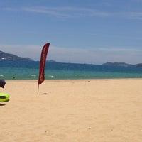 Photo taken at Sheraton Beach by Inna V. on 5/9/2013