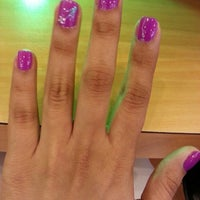 Photo taken at Four Leaf Clover Nail And Spa by Sandra V. on 8/3/2013